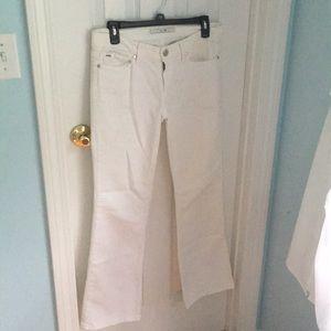 Joe's Jeans White Long Bootcut